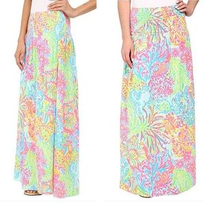 Lilly Pulitzer Bohdi Maxi Skirt, Lovers Coral